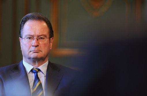 Ex-Außenminister Klaus Kinkel ist tot