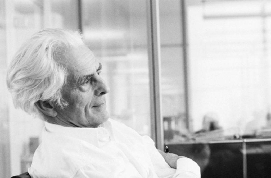 Frei Otto (1925–2015) Foto: Ingenhoven & Partner
