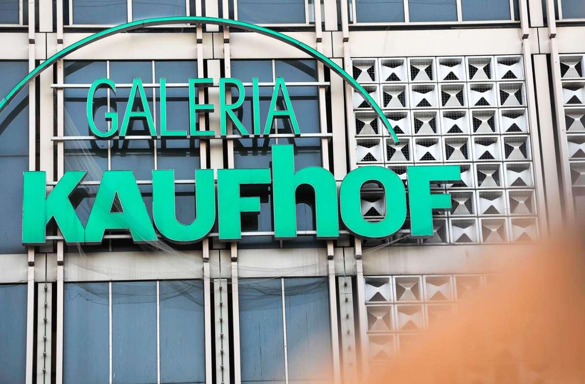 Die Kaufhof-Filiale in der Eberhardstraße ist Gegenstand von Verhandlungen. Foto: Lichtgut/Max Kovalenko