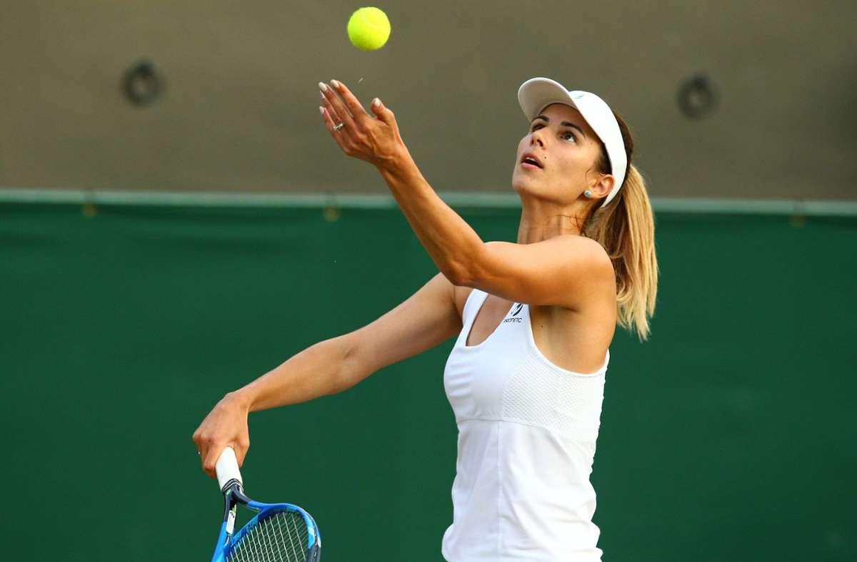 Zvetana Pironkova suchte nach der Geburt ihres Sohnes eine neue, alte Herausforderung und lehrte nach drei Jahren Pause 2020 auf den Court zurück. Foto: imago