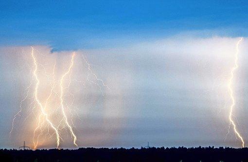 Wenn der Blitz zuschlägt