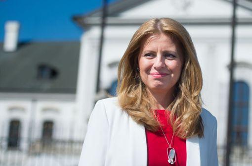 Hoffnungsträgerin der Protestbewegung wird slowakische Präsidentin