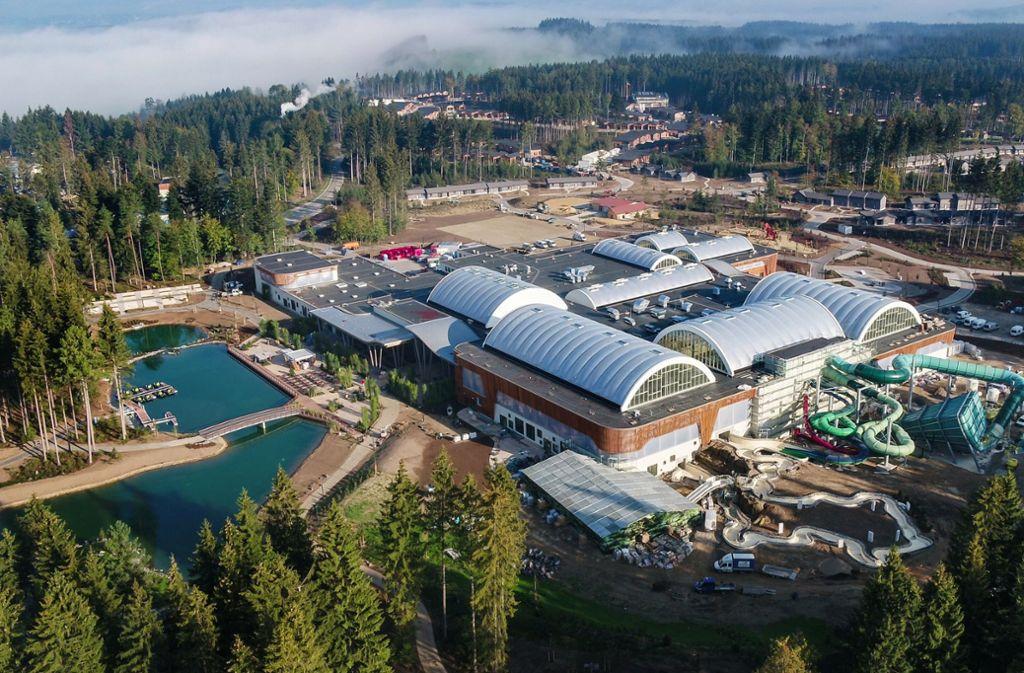 Der Ferienpark Center Parcs in Leutkirch hat nun geöffnet. Foto: dpa