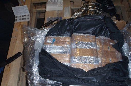 370 Kilogramm Kokain in Container gefunden