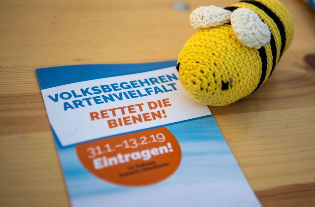 Das Volksbegehren war vielen Menschen in Bayern ein Anliegen. Foto: dpa