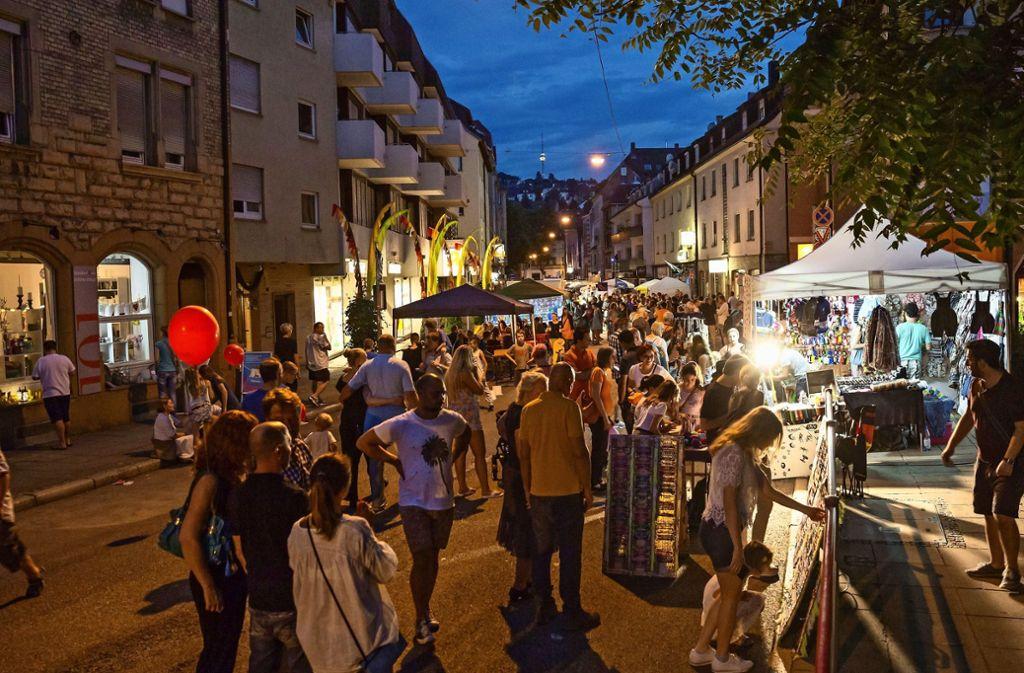 Lange Ost Nacht in der Gablenberger Hauptstraße Foto: Lichtgut/Julian Rettig