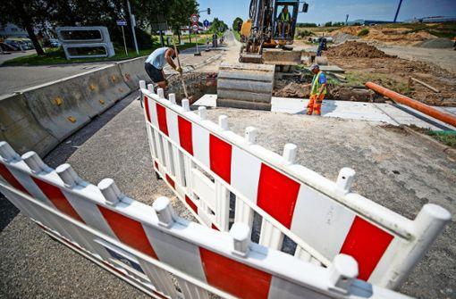 Backnang bleibt eine Mega-Baustellenstadt