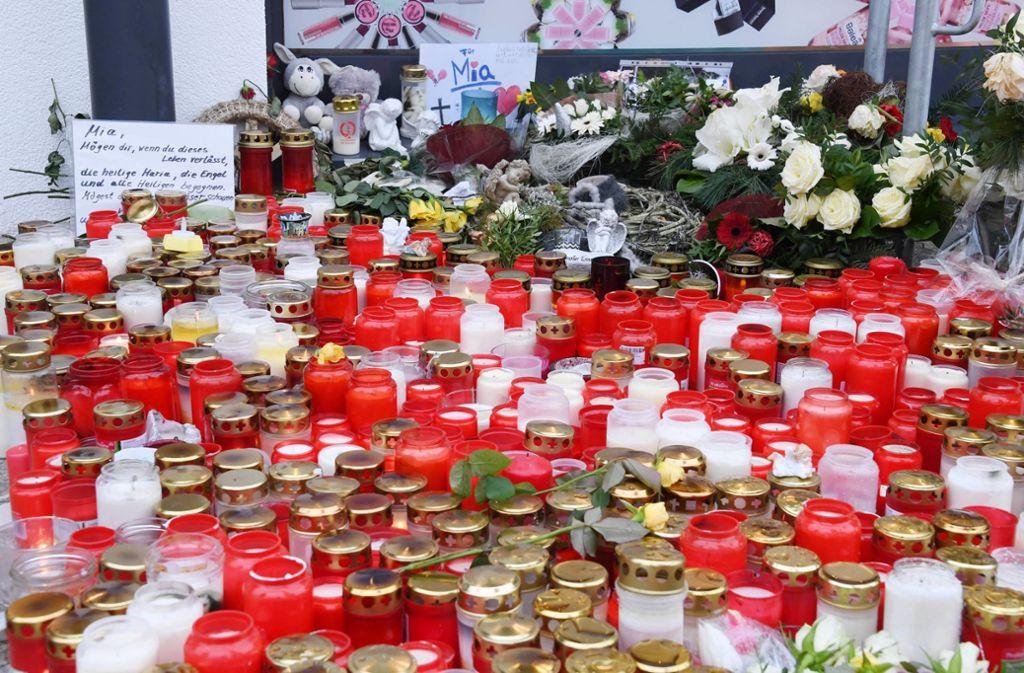 Gedenken in Kandel. Foto: dpa