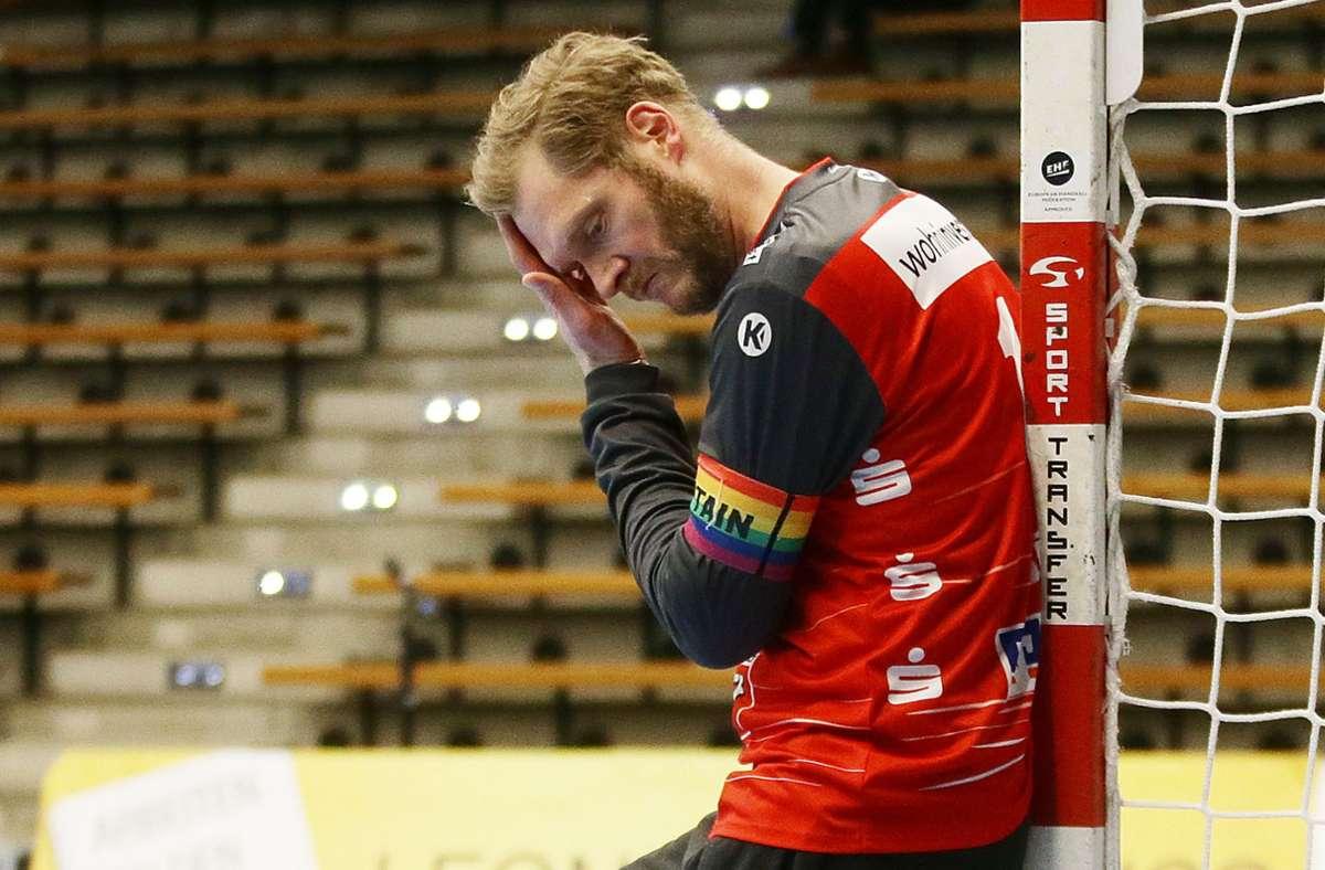 Hat jetzt erst einmal Pause im Handballtor: TVB-Keeper Johannes Bitter Foto: Baumann