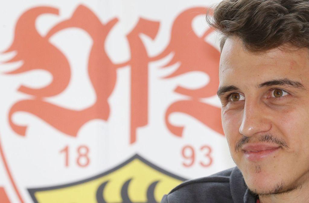 Marc Oliver Kempf bereitet sich mit dem VfB Stuttgart in Marbella auf die Rückrunde vor. Foto: Pressefoto Baumann/Hansjürgen Britsch