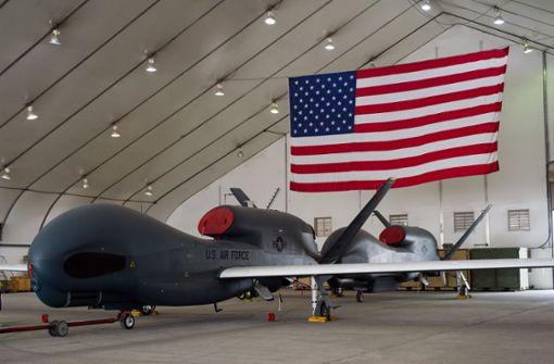 Iran schießt US-Drohne ab