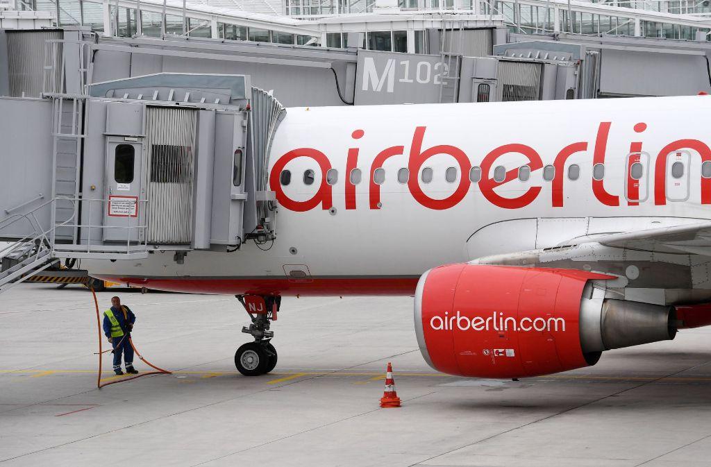 Die Fluggesellschaft Air Berlin ist insolvent. Foto: dpa