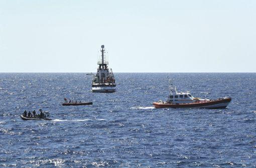 Lage auf Rettungsschiff eskaliert