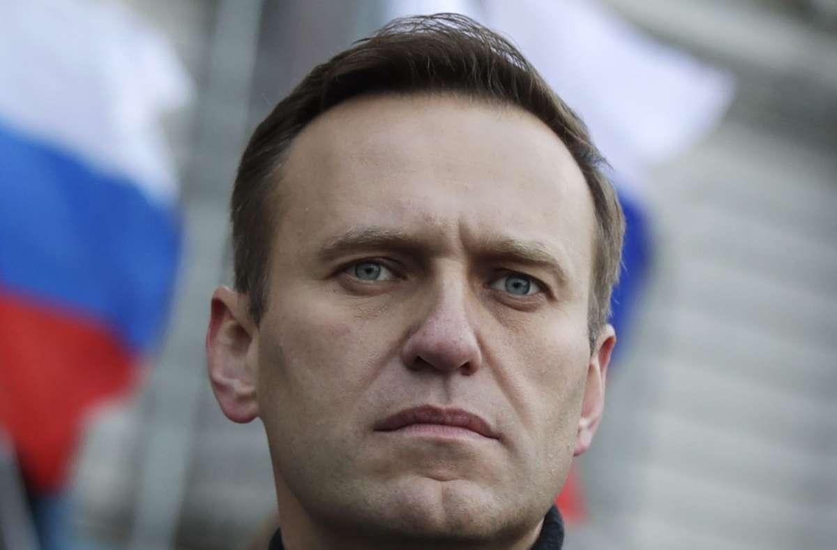 Alexej Nawalny geht nach seiner Vergiftung von einem längeren Weg bis zu seiner Genesung aus. Foto: dpa/Pavel Golovkin