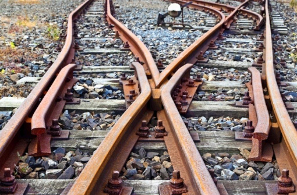 Aus alt mach neu: Weil die Bahn die Gleise auswechselt, gibt es einen Ersatzverkehr. Foto: dpa