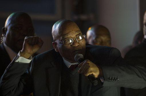 Misstrauensvotum gegen Zuma gescheitert