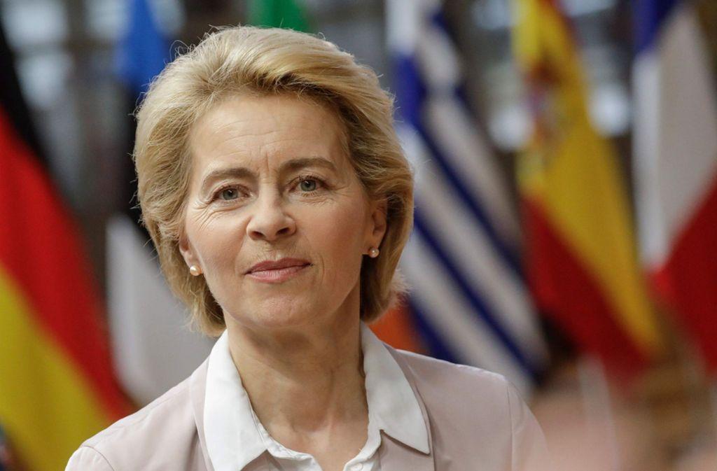 Noch ist fraglich, ob von der Leyens Kommission zum 1. Dezember starten kann. Foto: AFP/THIERRY ROGE
