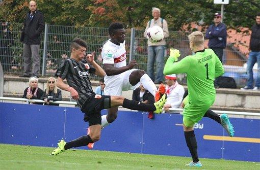 Kickers, Großaspach und VfB II mit vielen Toren