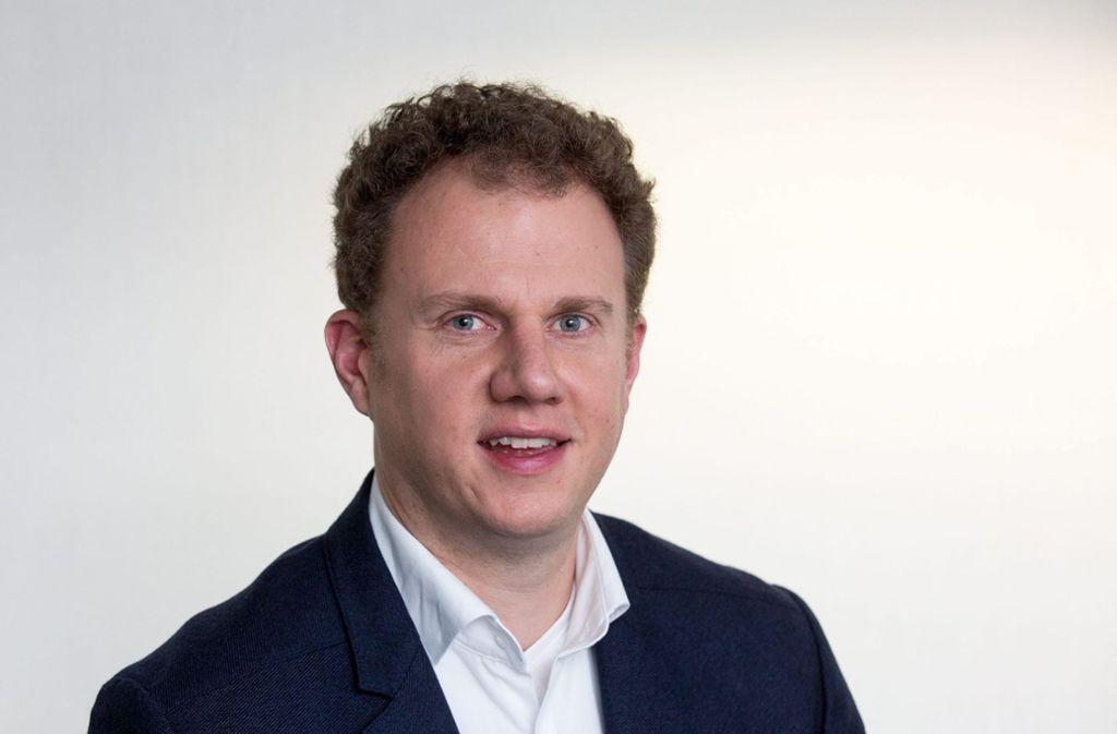 Matthias Knecht ist 43 Jahre alt, Dekan an der Hochschule Kempten – und will OB werden. Foto: privat