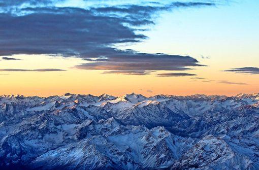 Lautloses Gleiten über Gipfel und Grate