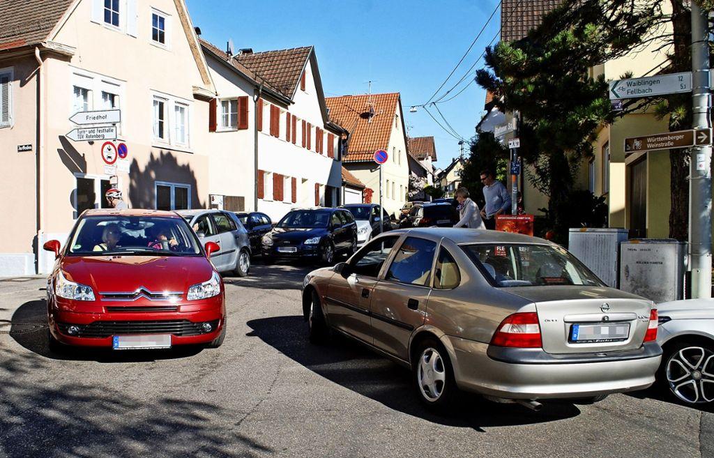 An schönen Wochenenden herrscht im Ortskern von Rotenberg Foto: Kuhn