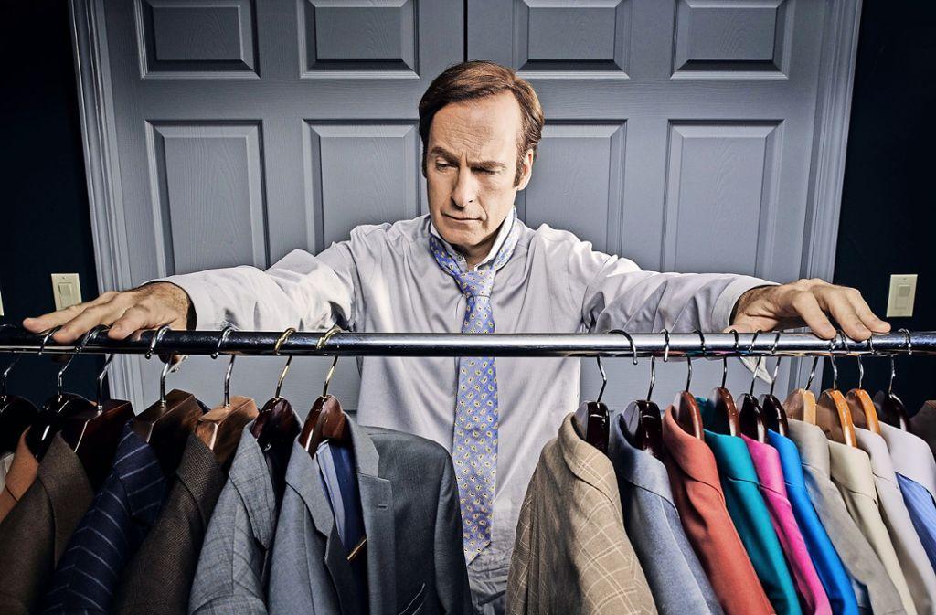 Bob Odenkirk als  Jimmy McGill, der zu  Saul Goodman wird Foto: Netflix