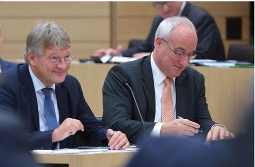 Abgeordneter Heiner Merz erklärt Austritt