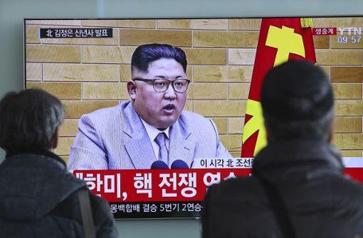 Südkorea schlägt dem Norden Gespräche vor