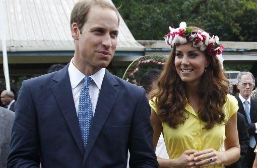 Kate und William lächeln den Frust weg