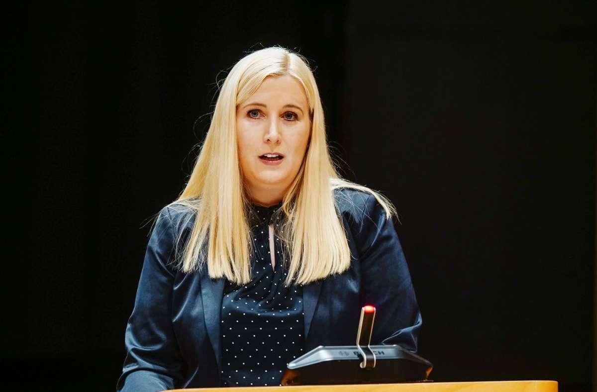 Josefa Schmid ist nach mehreren Anläufen zur Ersten Bürgermeisterin in Leonberg gewählt worden. Foto: Simon Granville