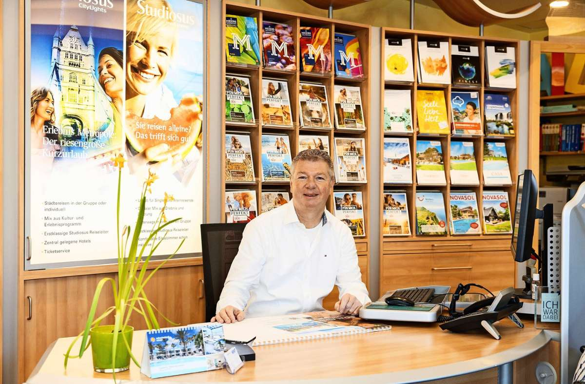 Bernfried Kraft möchte gerne wieder Urlaub verkaufen. Foto: Stefanie Schlecht