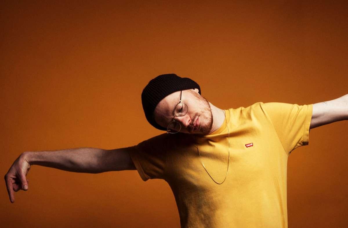 Marius Bornmann wollte als Schlagzeuger nicht immer nur im Hintergrund spielen. Foto: Viktor Schanz