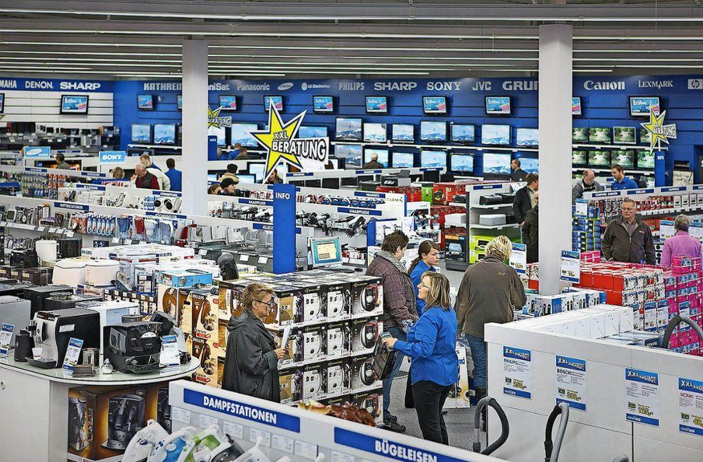 Vor allem die Euronics-Fachmärkte gehen auch auf den Marktplatz im Internet. Den kleineren Fachgeschäften ist  der damit verbundene Aufwand zu groß. Foto: Euronics