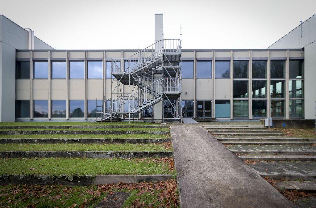 Die Sporthalle der Pädagogischen Hochschule darf zurzeit nicht betreten werden. Foto: factum/Granville