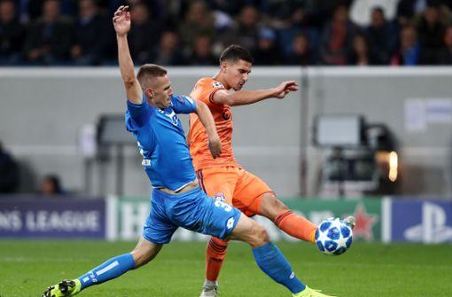 Hoffenheim rettet Unentschieden gegen Lyon