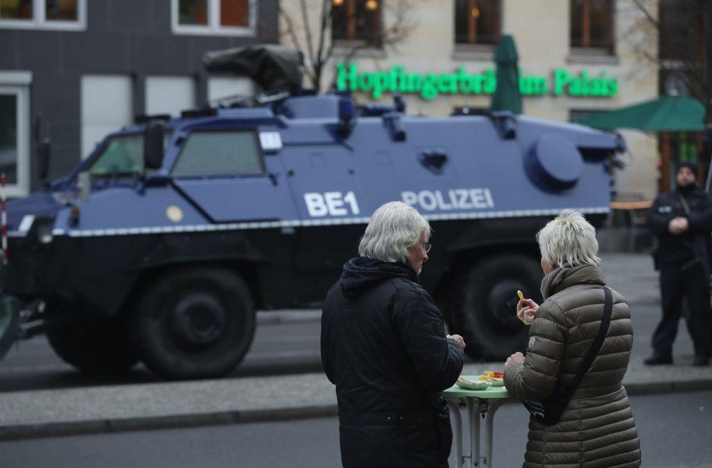 Ein möglicher Kontaktmann Amris soll in Berlin festgenommen worden sein. (Archivfoto) Foto: Getty Images