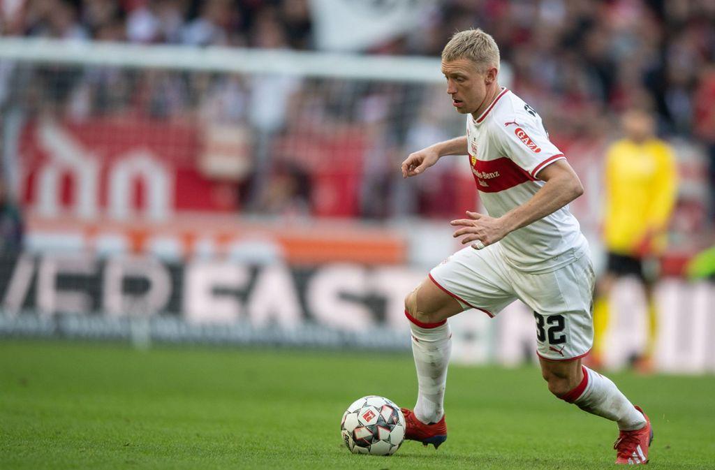 Der Mann für die rechte Außenbahn: Andreas Beck vom VfB Stuttgart Foto: dpa