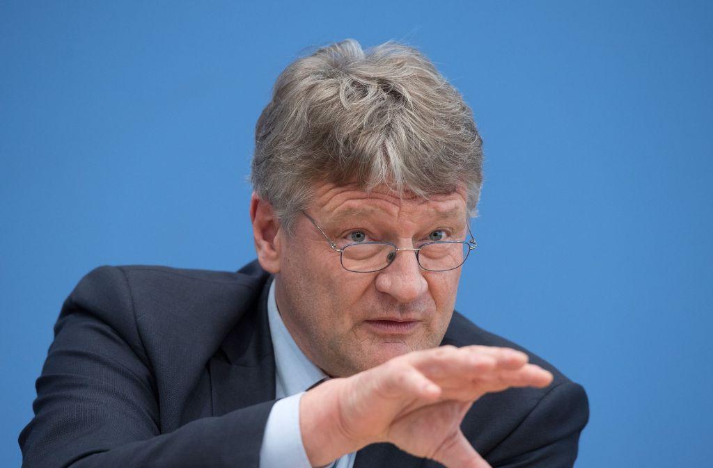AfD-Parteichef Jörg Meuthen hat sich zur Frankreich-Wahl geäußert. Foto: dpa