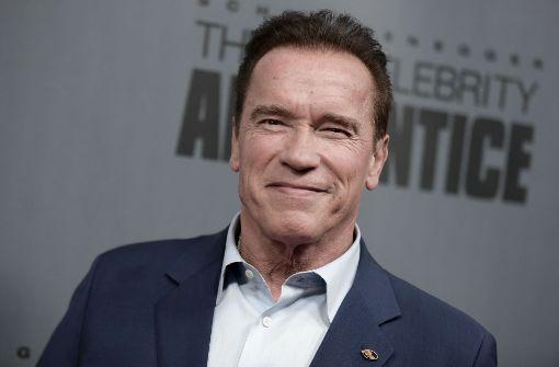 Schwarzenegger moderiert erstmals Trump-Show