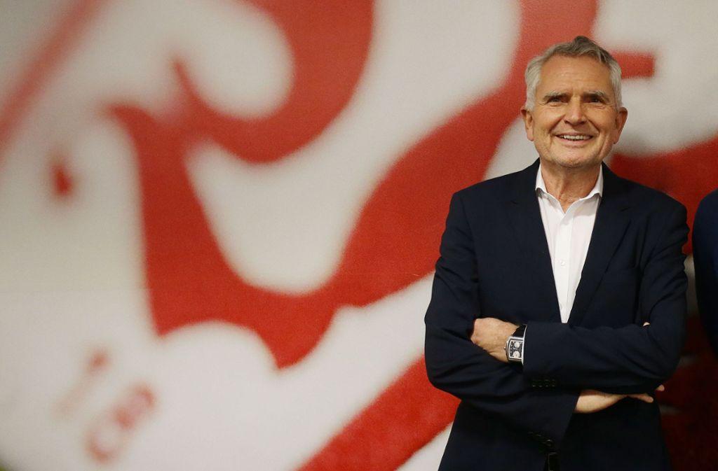 Wolfgang Dietrich freut sich über die Lizenterteilung. Foto: Pressefoto Baumann