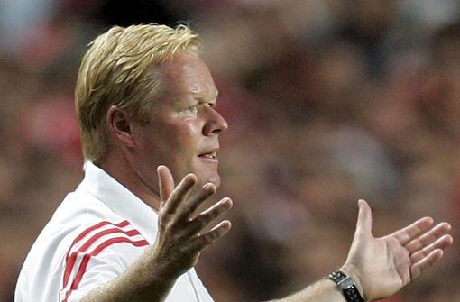 Oranje-Coach Ronald Koeman wird neuer Barça-Trainer