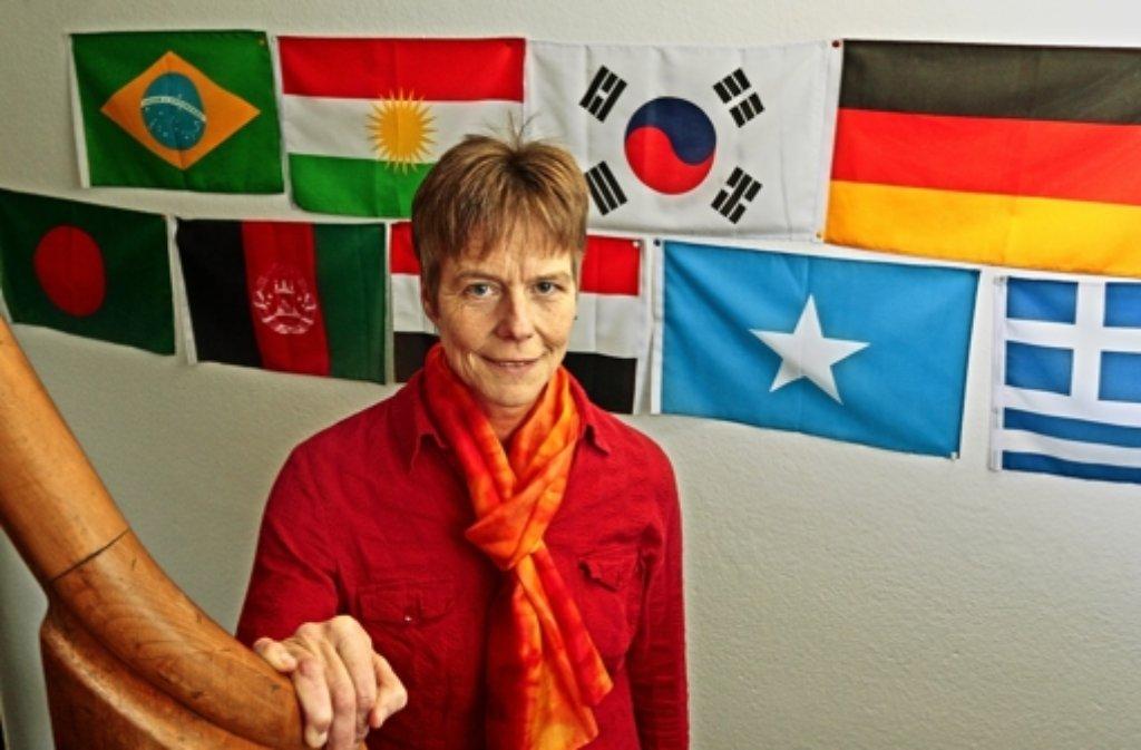 Dorothea Winarske und ihr Team von der Jugendhilfe Korntal kümmern sich um 60 jugendliche Flüchtlinge. Foto: factum/Granville