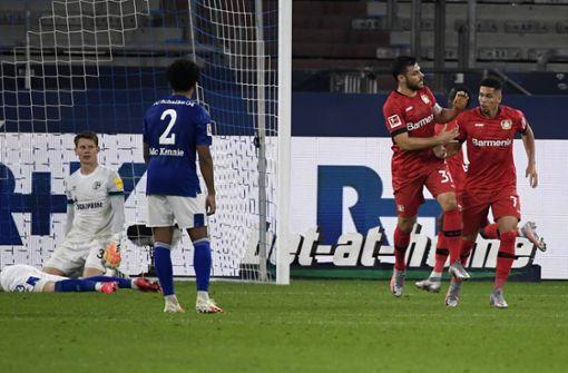 Bayer Leverkusen erobert Champions-League-Platz
