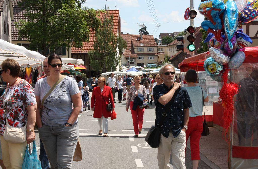 Am Wochenende steht in Birkach der verkaufsoffene Sonntag und Gesundheitstag an. Foto: Archiv Rebecca Stahlberg