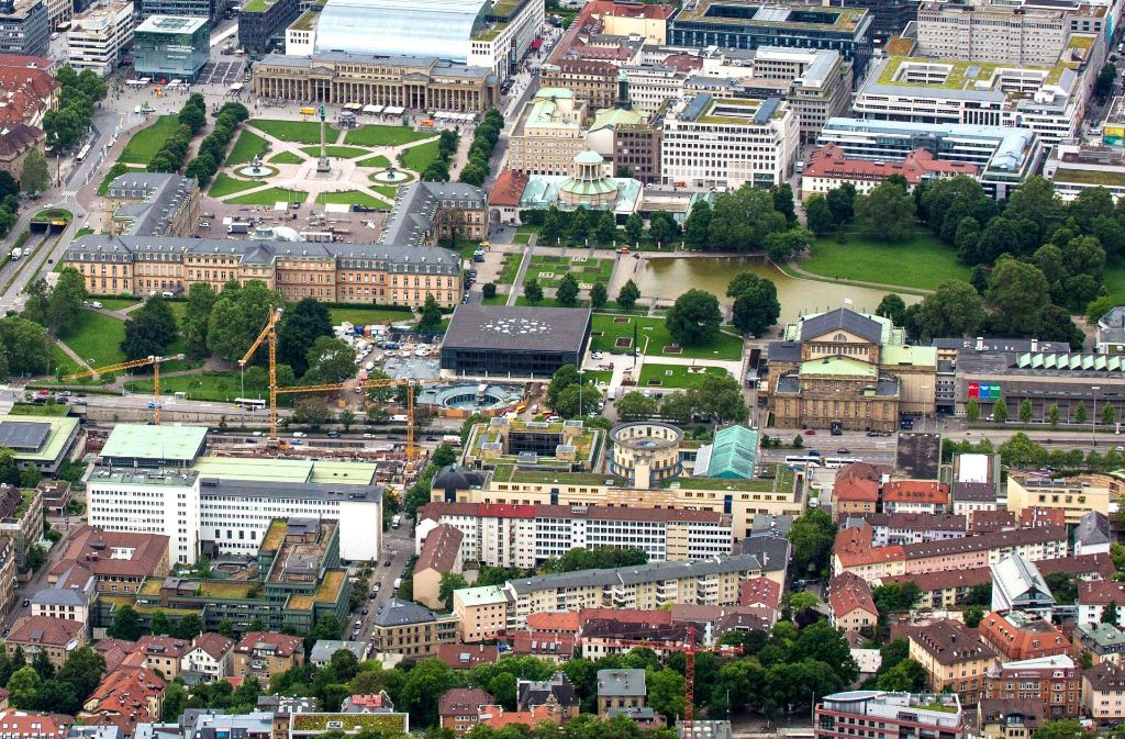 """Die Initiatoren der Initiative """"Aufbruch Stuttgart"""" setzen vor allem darauf, dass im Zuge der geplanten Opernsanierung auch Projekte der Kulturmeile in Angriff genommen werden. Foto: dpa"""