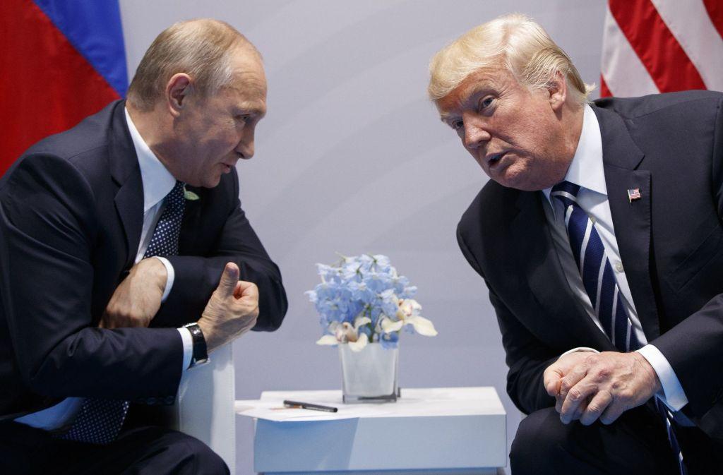 Zwischen Wladimir Putin und Donald Trump gibt es vieles zu klären. Foto: AP