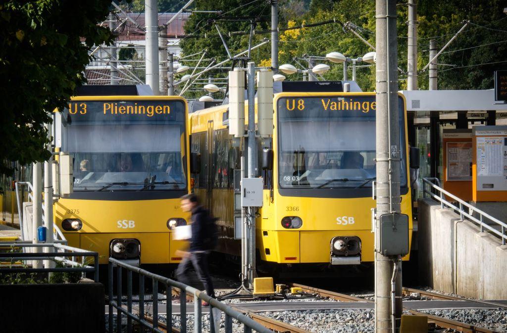 Stadtbahnen und Busse bilden das Rückgrat der Mobilität in Stuttgart. Die SSB setzt auf den weiteren Ausbau des Angebots. Foto: Lichtgut/Achim Zweygarth