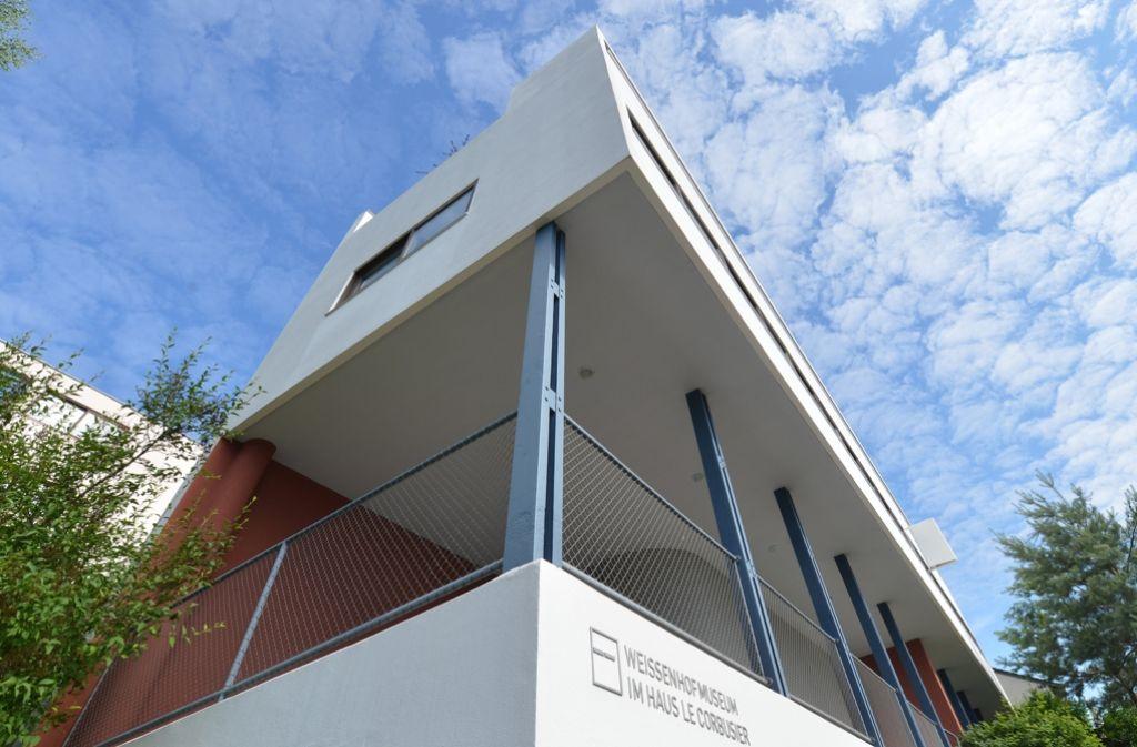 Das Le Corbusier Haus der Weissenhofsiedlung gehört jetzt zum Weltkulturerbe. Foto: dpa