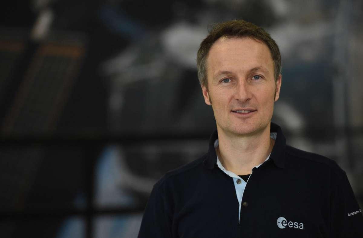 Matthias Maurer wird 2021 zum ersten Mal zur internationalen Raumstation ISS fliegen. Foto: dpa/Felix Hörhager