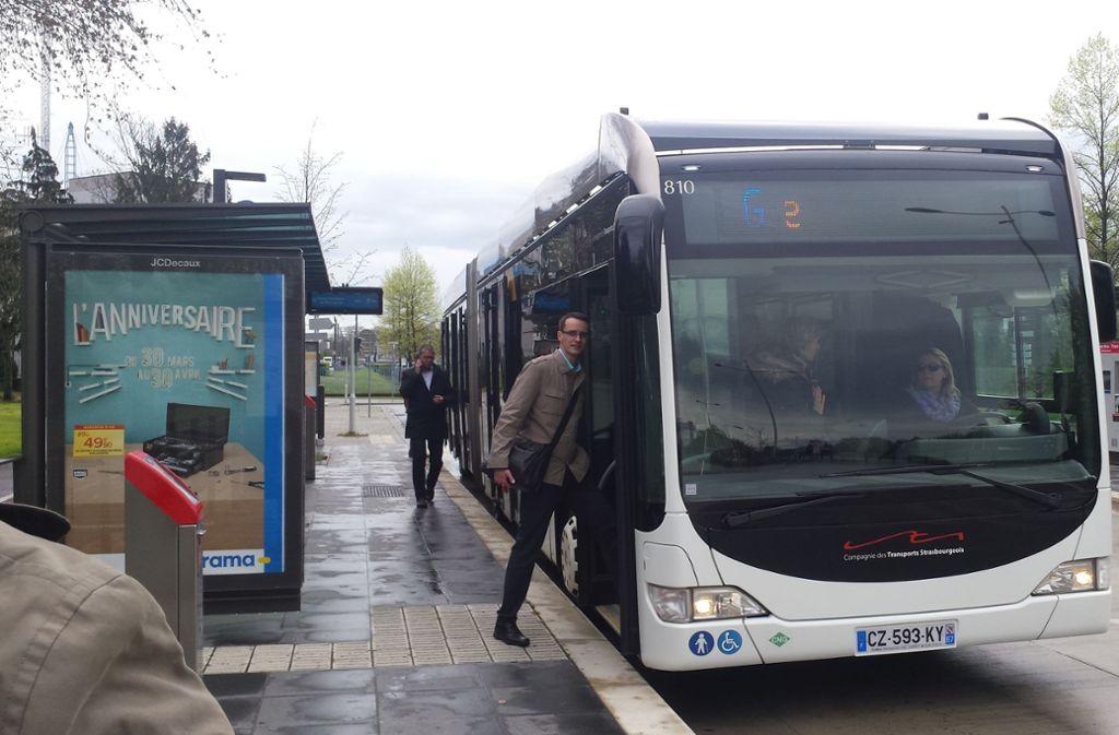 Ein Vorbild für Ludwigsburg? Der BRT in Straßburg. Foto: Höhn (Archiv)